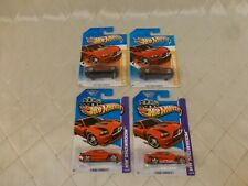 Hot Wheels '11 Dodge Charge R/T New Models Showroom lot of 4 Sealed on Cards