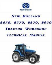 More details for new holland 8670 8770 8870 8970 tractors dealers workshop manual