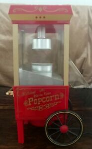 Old Fashioned Movie Time Popcorn Machine   Preowned