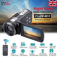 "3.0"" HD 24MP 1080P 18X Digital DV Camcorder Infrared Night Video Recorder Camera"