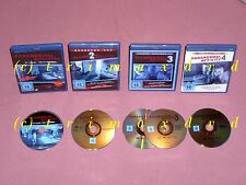 4x BluRay _ Paranormal Activity 1 & 2 & 3 & 4 _ Alle 4 Teile TOP-Zustand