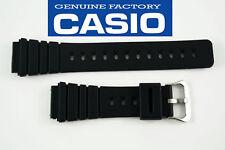Casio Original Rubber Watch Band Black Strap 20MM AQ-100 AQ-100WG MRD-201
