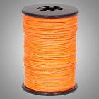 """Flo Orange BCY Halo .014"""" Braided Spectra Serving Material Spool Bow String"""