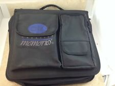 CREATIVE MEMORIES Large Black Zippered Binder With Many Sheets INSERTS