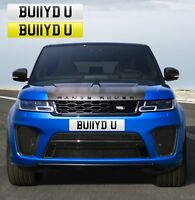 BULLIED U (BU11YD U) FUNNY RUDE PRIVATE NUMBER PLATE REG BULLY BOSS AMG FAST RS6