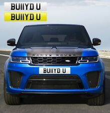 BULLIED U (BU11YD U) FUNNY RUDE PRIVATE NUMBER PLATE BULLY RANGE ROVER M4 M5 AMG