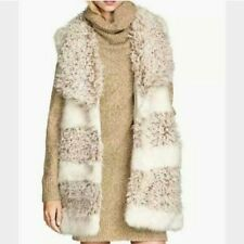 Faux fur/pelliccia stile montone pecorella h&m senza maniche nuova