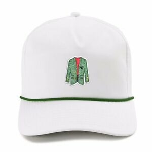 Tiger Woods Sunday Red Augusta Inspired Imperial Dark Green Rope Hat Frank