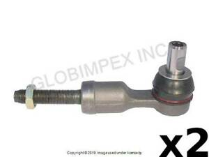 AUDI / VW (1996-2006) Tie Rod End LEFT and RIGHT OUTER (2) DELPHI TECHNOLOGIES