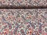 """'BTY ~ FABRIC FINDERS 100% COTTON FABRIC ~ PAISLEY & HEARTS ~ NAVY MULTI ~ 59""""W' from the web at 'https://i.ebayimg.com/thumbs/images/g/jG4AAOSw32lYre0v/s-l96.jpg'"""