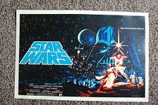 Star Wars Lobby Card Poster #7 Mark Hamill Harrison Ford Carrie Fisher___