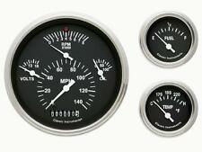 Classic Instruments 57 Chevy Car Package Gauge Panel Cluster Dash (Black)