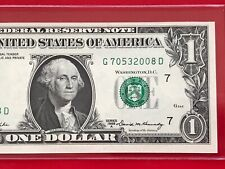 WOW 1969A $1 Dollar Bill Note ( CHICAGO ) Uncirculated