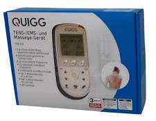 QUIGG TENS-/EMS- und Massage-Gerät Schmerzbehandlung 56 Programme