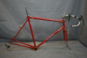 1978 Schwinn Traveler Vintage Touring Bike Frame Set 58cm Large Steel US Charity
