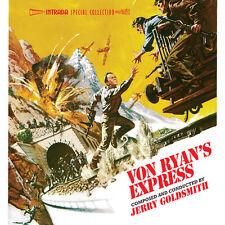Von Ryans Express / The Detective - Complete Scores - OOP - Jerry Goldsmith