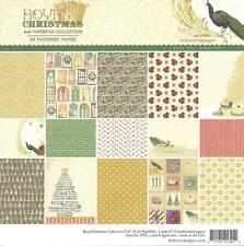Webster's pages ROYAL CHRISTMAS 6 x 6 paper pad 24 Double sided - PP02