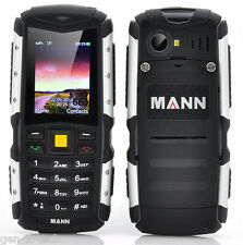 Dual Sim Rugged Tough Mobile Phone: Waterproof DustProof Shockproof FM Radio