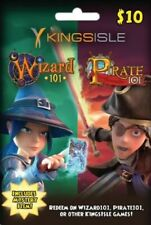Mystery Item WIZARD 101 Game Card FAST Delivery