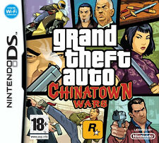 Nintendo DS Grand Theft Auto Chinatown Wars Game Pad Console Cult Classic GTA 90