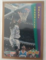 1992 92-93 FLEER SLAM DUNK DUNK Shaquille O'Neal Rookie Card #298, SHAQ RC, HOF