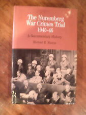 Signed by Court Reporter  The Nuremberg War Crimes Trial 1945-1956 by Marrus