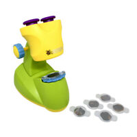 Children Kids Microscope Science Lab Set Light Education Toy Christmas Gifts UK