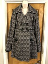 Vera Moda Coat Size XL  ( Uk 16 )Grey Black