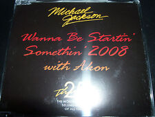 Michael Jackson FT Akon Wanna Be Startin' Somethin' 2008 Aust CD –