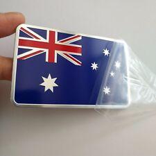 1pcs Car Metal Emblem Badge Flag of Australia Star 3D Logo silver