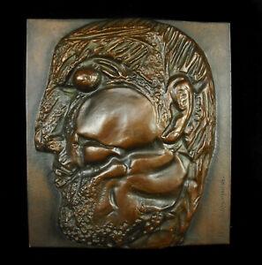 "Henry to Wait "" The Gallic "" Large Cast Bronze Num Ee/ 50 Medal 2,7 KG"