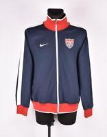 Nike USA Uomo Maglione Tuta Giacca Taglia L
