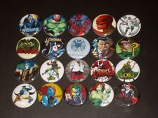 Super Heroes Villains Buttons/ Pins 20