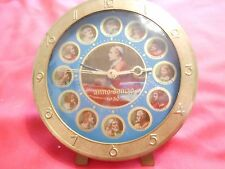 Outstanding Vintage Clock-Anno Sanglo 1950 Pius X.with .12 Disciples.Sale