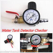 Protable Vehicles Water Tank Leakage Detector Gauge Radiator Pressure Tester Kit