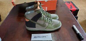 Nike Dunk High NL size 10 Us Clsc Olive/safari-blk-marakesh 311396 331