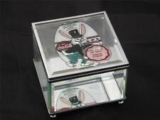 Coca Cola Coke Glass Mirror Jewelry Trinket Box, Easter Springtime Atlanta 2001