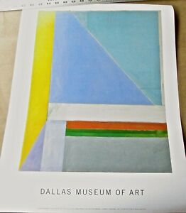 Richard Diebenkorn Ocean Park 29 Poster from Dallas Museum of Art 24 in x 18 1/2