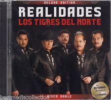 2 CD's Combo - Los Tigres Del Norte CD NEW Realidades DELUXE Edition BRAND NEW