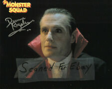 UNIVERSAL MONSTERS-THE MONSTER SQUAD-DUNCAN REGEHR-DRACULA-SIGNED-8X10-ZORRO