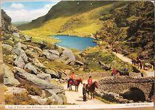 Irish Postcard GAP OF DUNLOE Killarney Kerry Ireland E Nagele John Hinde 2/6