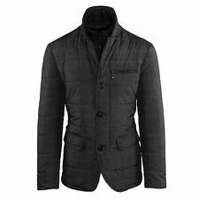 Men's Jacket Winter Black Jacket Quilted Elegant Jacket Slim Fit