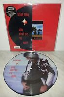 """7"""" 45 GIRI BRIAN MAY - WHY DON'T WE TRY AGAIN - PICTURE DISC"""