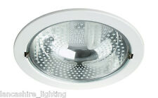 Robur Recessed White 2x23w Downnlighter