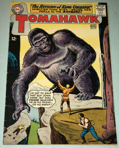 Tomahawk #93 VG/F 1964 DC Comic Book Silver Age Western Giant Gorilla Story
