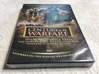 Century of Warfare - DVD, New And Sealed
