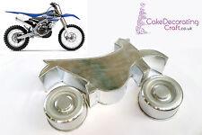 "3D Novelty Cake Baking Tins Pans | Dirt Motor Bike Cake Shape | 3 "" Deep"