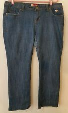 Apple Bottom Jeans Size 16W Blue Denim Boot Cut 5 Pockets
