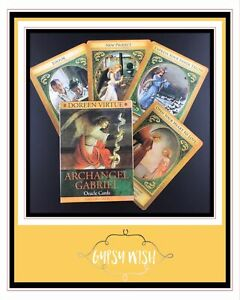 Archangel Gabriel Healing Oracle Cards Doreen Virtue BRAND NEW (Electronic Guide