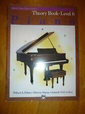 Alfred's Basic Piano Library: Theory Book 6 By Willard A. Palmer, Morton Manus,